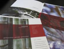 Bahnsen Gartengestalter – Broschüre