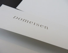 Domeisen jewelery – logo + Briefschaften