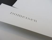 Domeisen jewelery – logo + Briefschaften