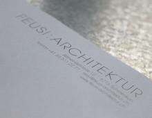 Feusi Architektur AG – Logo